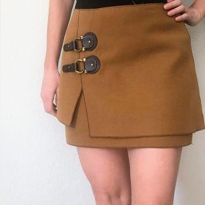 Anthropologie Camel Skirt